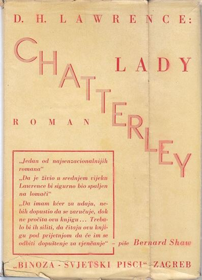 Picture of D.H. Lawrence: Lady Chatterley