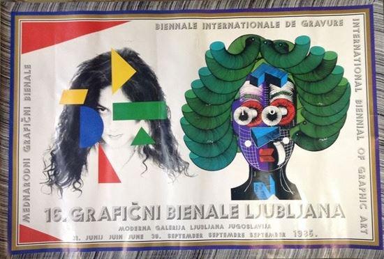 Picture of Miroslav Sutej: 16. graficni bienale, Ljubljana 1985.