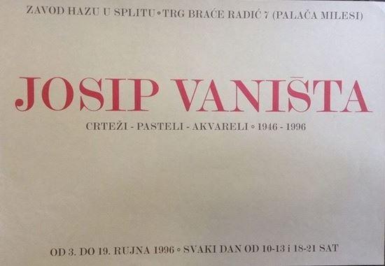 Picture of Josip Vaništa, HAZU, Split 1996.