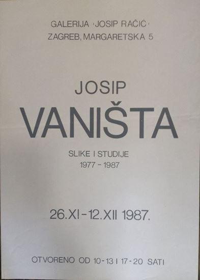 Picture of Josip Vaništa: Slike i studije 1977-1987