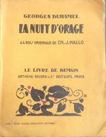 Picture of Georges Duhamel: La nuit d'orage