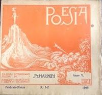 Picture of Filippo Tommaso Marinetti: Poesia 1-2 / 1909