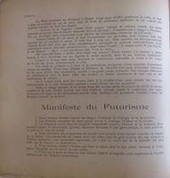 Picture of Filippo Tommaso Marinetti: Poesia 1-2 / 1909