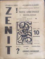 Picture of Ljubomir Micić & Ivan Goll: Zenit 10