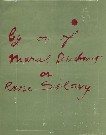 Picture of By or of Marcel Duchamp or Rose Selavy at the Pasadena Art Museum, 1963.