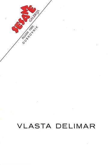 Picture of Vlasta Delimar: Sesame Galerija