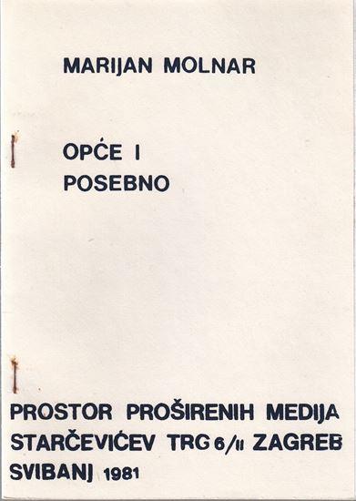 Picture of Marijan Molnar: Opće i posebno