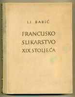 Picture of Ljubo Babic: Francusko slikarstvo XIX. stoljeca