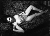 Picture of Stanko Abadžić: Female Nude on Couch