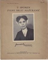 Picture of Franjo Bucar: U spomen Ivane Brlic Mazuranic