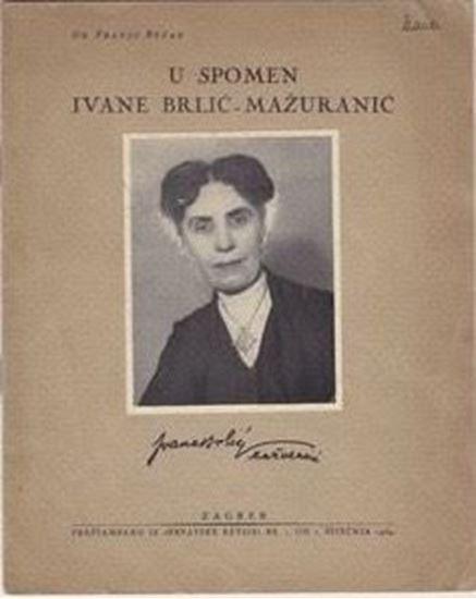 Picture of Franjo Bučar: U spomen Ivane Brlić Mažuranić