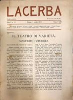 Picture of Papini & Soffici & Marinetti: Lacerba