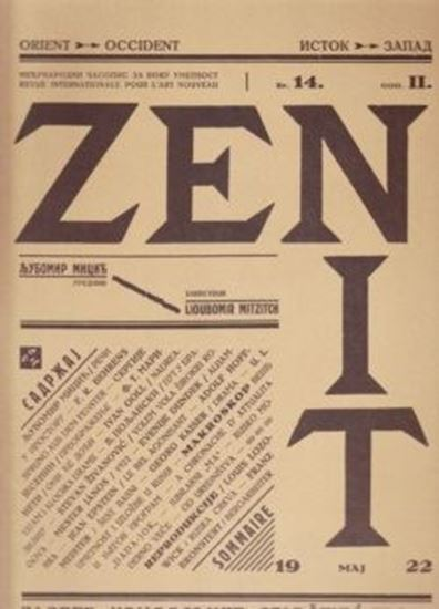 Picture of Ljubomir Micić, urednik: Zenit  1- 43
