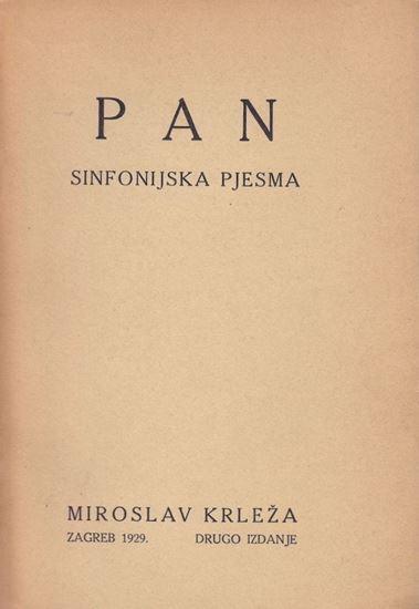 Picture of Miroslav Krleža: Pan / sinfonijska pjesma