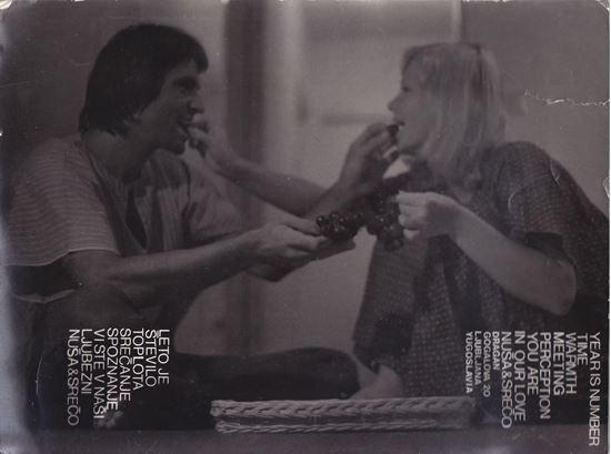 Picture of Nuša & Srečo Dragan: Vintage invitation