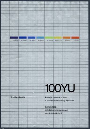Picture of Ivan Picelj:  100 YU / izložba plakata