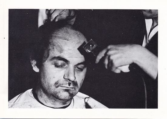 Picture of Tomislav Gotovac: Haircutting and shaving in public