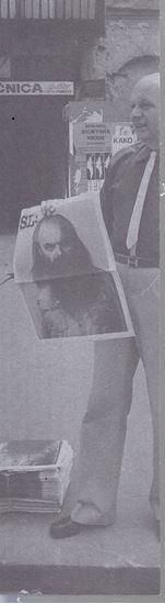 Picture of Tomislav Gotovac: Newspaper Art