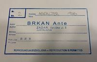 Picture of Ante Brkan: Asfalter