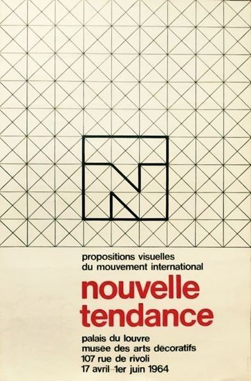 Picture of Karl Gerstner: Nouvelle Tendance