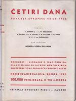 Picture of Cetiri dana : povijest evropske krize 1938.