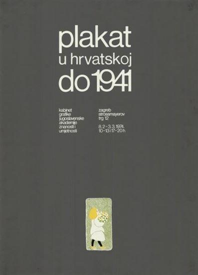 Picture of Ivan Picelj: Plakat u Hrvatskoj do 1941.