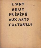 Picture of L'Art Brut Prefere Aux Arts Culturels