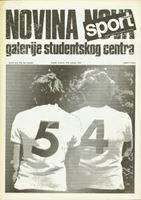 Picture of Novina Nova Galerije Studentskog centra 54