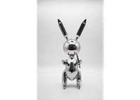 Picture of Jeff Koons: Silver Rabbit
