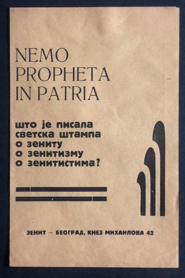 Picture of Zenit: Nemo propetha in patria