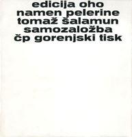 Picture of Tomaž Šalamun: Namen pelerine